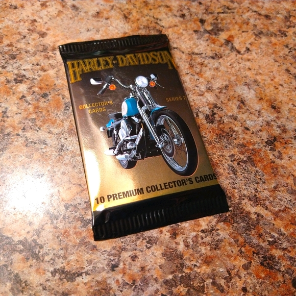 NOS Vintage 1992 Harley-Davidson Trading Cards